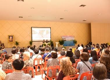 モデル都市(Phanat Nikhom)でのユニバーサルデザイン導入に関するワークショップ