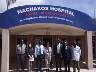 現地調査(ケニア:Machakos病院)